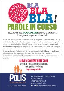 Seminario logopedia novembre 2014